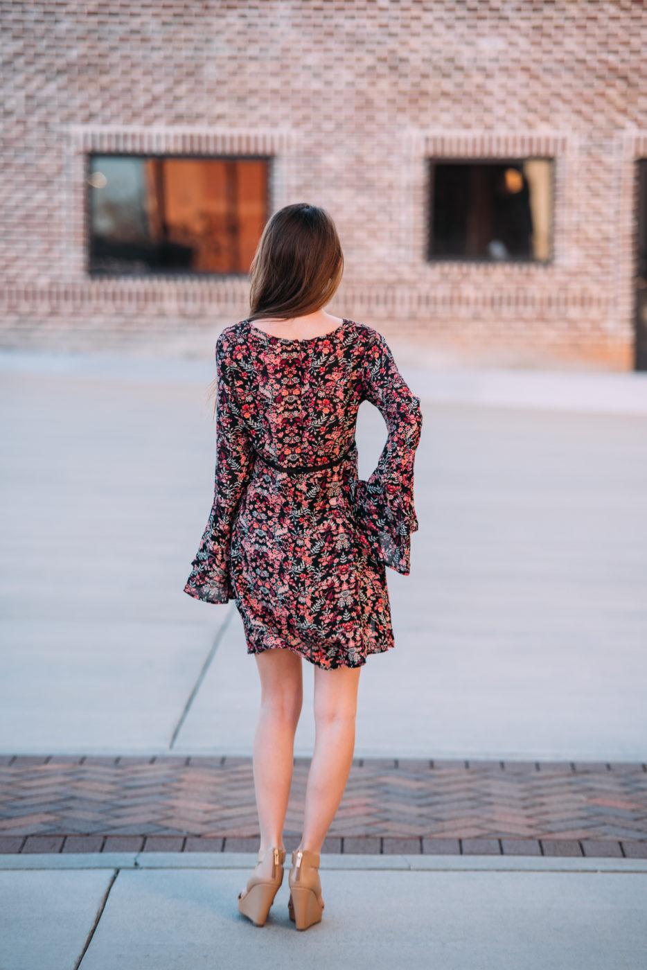 Midnight Garden Dress