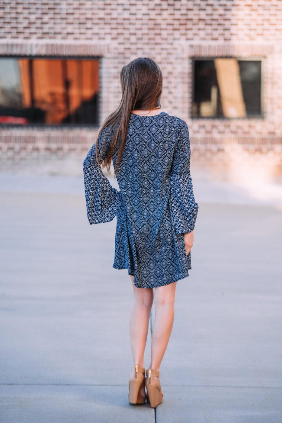 Sapphire Storm Dress